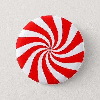 pepermunt snoep ronde button 5,7 cm