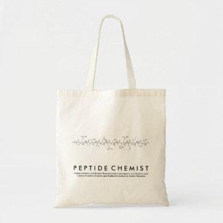 Peptide peptide van de Chemicus uitdrukkingszak Draagtas