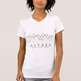 Peptide van Alyssa naamoverhemd T Shirt