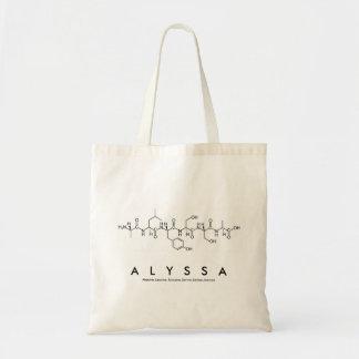 Peptide van Alyssa naamzak Draagtas