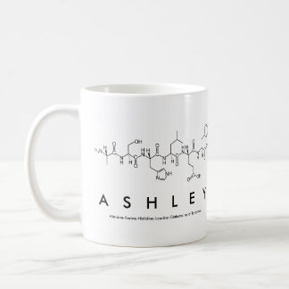 Peptide van Ashley naammok Koffiemok