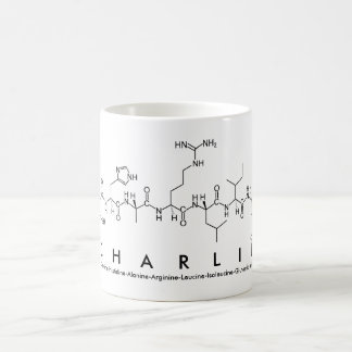 Peptide van Charlie naammok Koffiemok