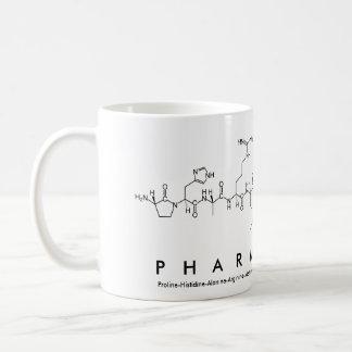 Peptide van de apotheker woordmok koffiemok