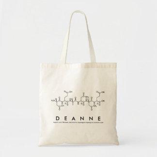 Peptide van Deanne naamzak Draagtas