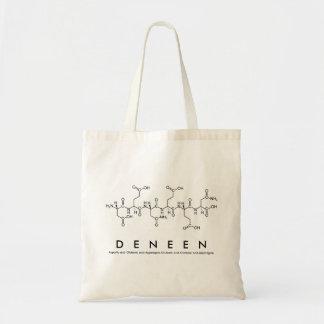 Peptide van Deneen naamzak Draagtas