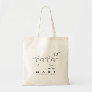 Peptide van Mary naamzak Budget Draagtas