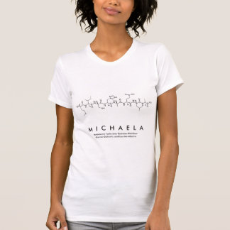 Peptide van Michaela naamoverhemd T Shirt