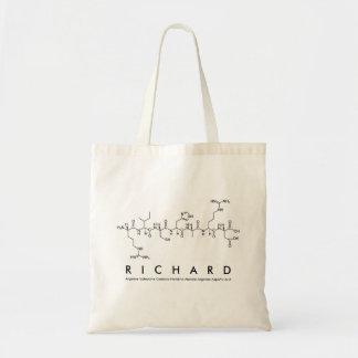 Peptide van Richard naamzak Draagtas