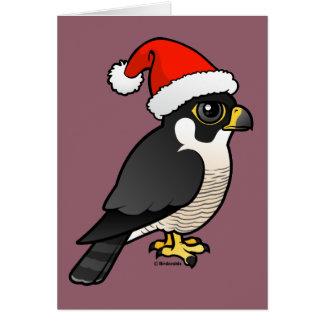Peregrine de Kerstman van de Valk Briefkaarten 0