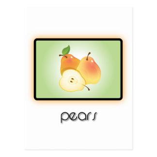 Peren Briefkaart