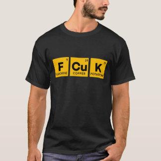 Periodieke Lijst FCUK & GEEF ik Geen OVERHEMD van T Shirt
