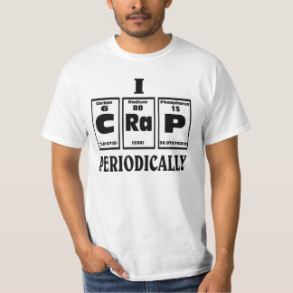 Periodieke lijst van CRAP. T Shirt