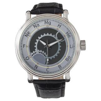 Periodieke Lijst van het Mannen van Elementen Horloges
