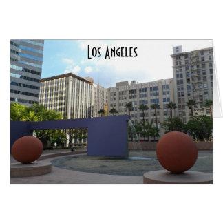 Pershing Vierkant Los Angeles Kaart