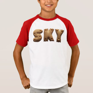 """Personalised T shirt with the name """"Sky"""""""