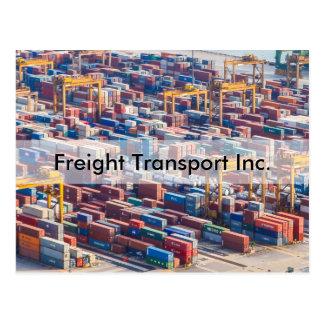 Personaliseer De Uitnodiging van het Vrachtvervoer Briefkaart