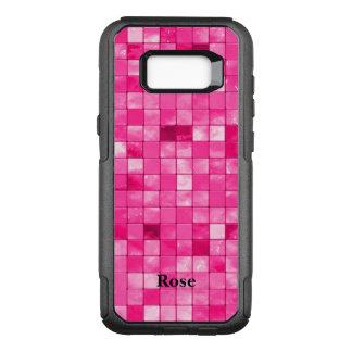 Personaliseer:  Het fuchsiakleurig Patroon van de OtterBox Commuter Samsung Galaxy S8+ Hoesje