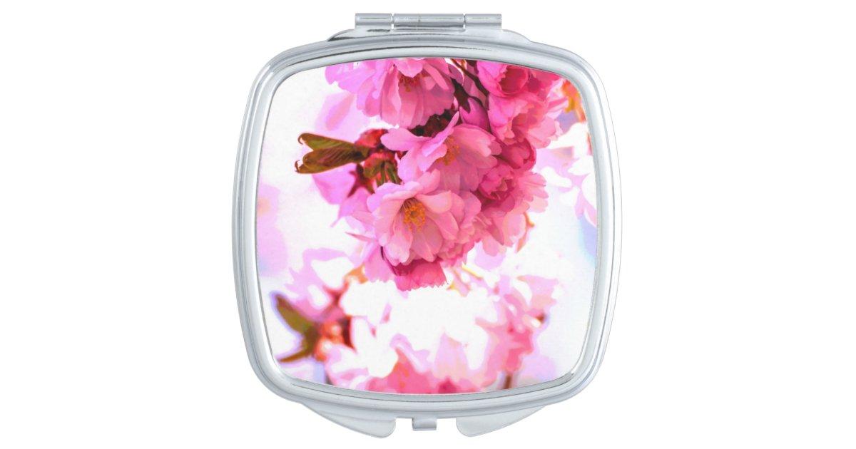 Personaliseer me de vierkante spiegel van de makeup spiegel zazzle - Meubilair van de ingang spiegel ...