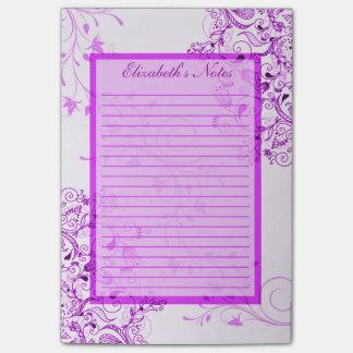 Personaliseer Nota's van de Wijnstokken Swirly van Post-it® Notes