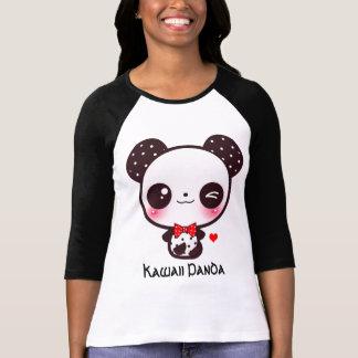 Personaliseer panda Kawaii T Shirt