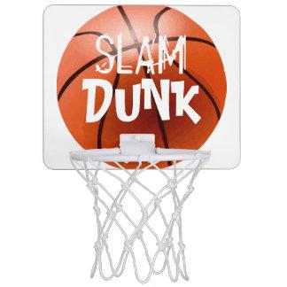 Personaliseer SLAG ONDERDOMPELEN de MiniHoepel van Mini Basketbalbord