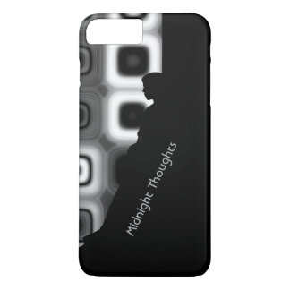 Personaliseer Uw Gedachten van de Middernacht iPhone 7 Plus Hoesje