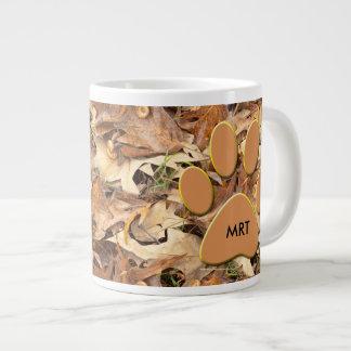 Personaliseer:  Vat de Herfst Camo van de Foto van Grote Koffiekop