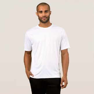 Personaliseerbaar Large Heren Performance T-Shirt