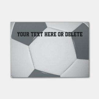 Personaliseerbare Voetbal | Nota's van het Post-it® Notes