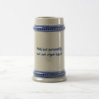 persoonlijke bierpul