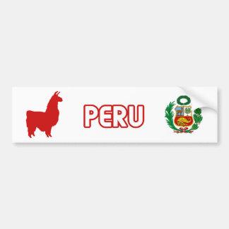 Peru Stiker Bumpersticker