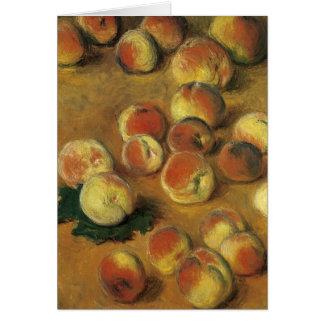 Perziken door Claude Monet Briefkaarten 0