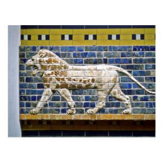 Perzische Leeuw - Verglaasde Baksteen, Istanboel Briefkaart