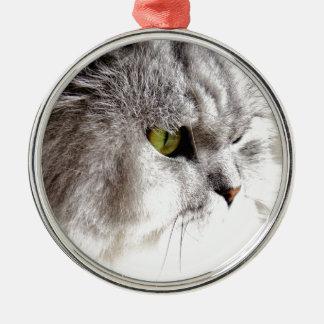 Perzische Schoonheid Zilverkleurig Rond Ornament
