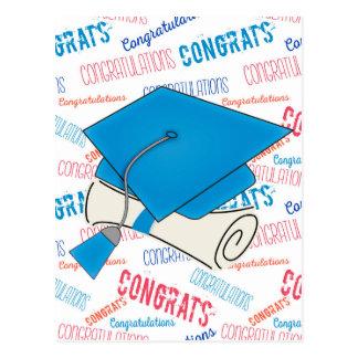 Pet en Diploma van de Afstuderen van de ontduiker Briefkaart