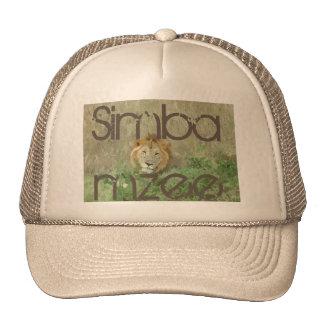 Pet Trucket het oude van de Leeuw (mzee Simba)