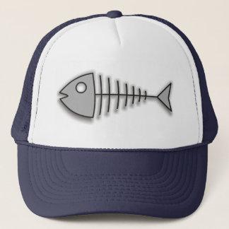 Pet van de Visser van de Visgraten van de cartoon