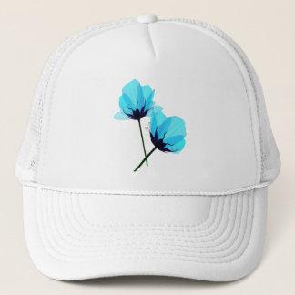 Pet van twee het Elektrische Blauwe Bloemen