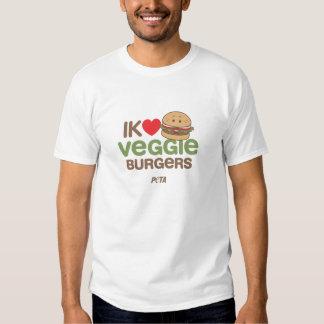 PETA Ik [love] veggie burgers Tshirt