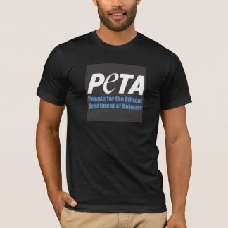 PETA people for the ethical treatment of animals Tshirts