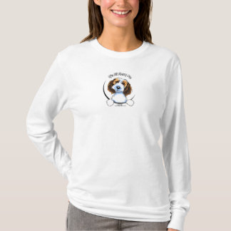 Petit Basset Logo IAAM van Griffon Vendeen PBGV T Shirt