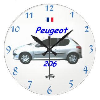 Peugeot 206 de Klok van de Muur