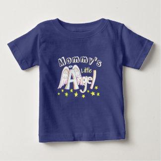 Peuter van de Engel van de blauwe Mama Baby T Shirts