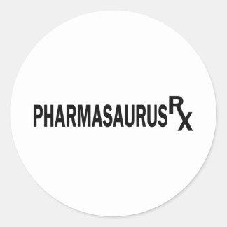 Pharmasaurasrx Ronde Sticker