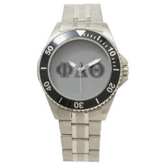 Phi de Delta Zwarte Brieven van de Theta Horloges