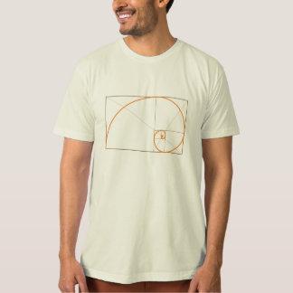 Phi, de Gouden Verhouding. (organische kleuren) T Shirt