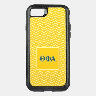 Phi het Alpha- | van de theta Patroon van de OtterBox Commuter iPhone 7 Hoesje