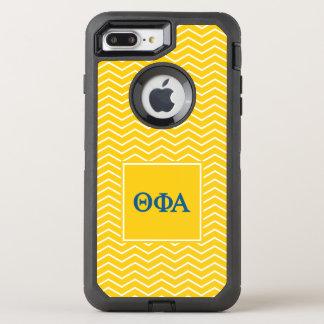 Phi het Alpha- | van de theta Patroon van de OtterBox Defender iPhone 8 Plus / 7 Plus Hoesje