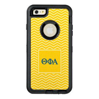 Phi het Alpha-   van de theta Patroon van de OtterBox Defender iPhone Hoesje