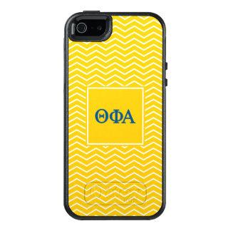 Phi het Alpha- | van de theta Patroon van de OtterBox iPhone 5/5s/SE Hoesje